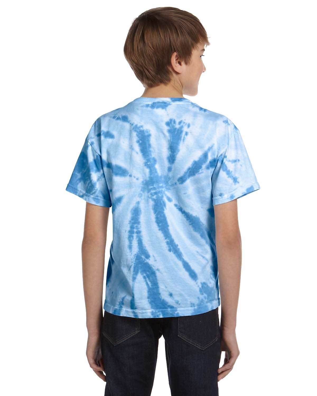 CD110Y Tie-Dye Drop Ship TWST CAROLIN BLU