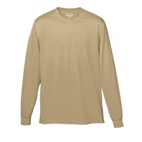 788 Augusta Sportswear 788 Adult Wicking Long-Sleeve T-Shirt VEGAS GOLD