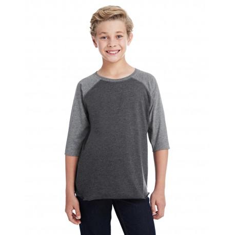 6130 LAT 6130 Youth Baseball Fine Jersey T-Shirt VN SMK/GRAN HTH