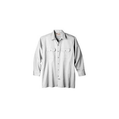 574 Dickies 574 Unisex Long-Sleeve Work Shirt WHITE