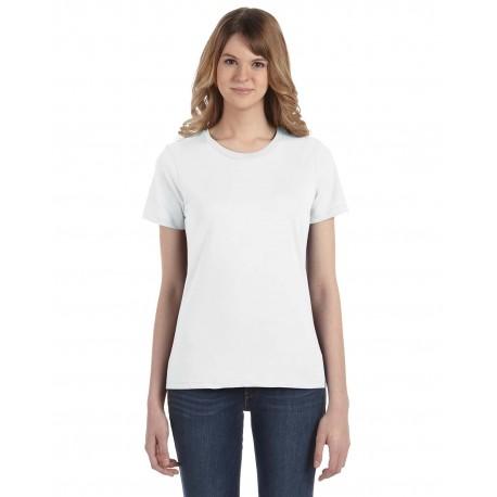 880 Anvil 880 Ladies' Lightweight T-Shirt WHITE