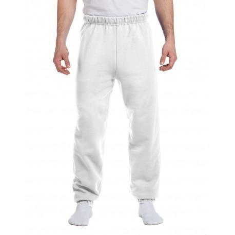 973 Jerzees 973 Adult 8 oz. NuBlend Fleece Sweatpants WHITE