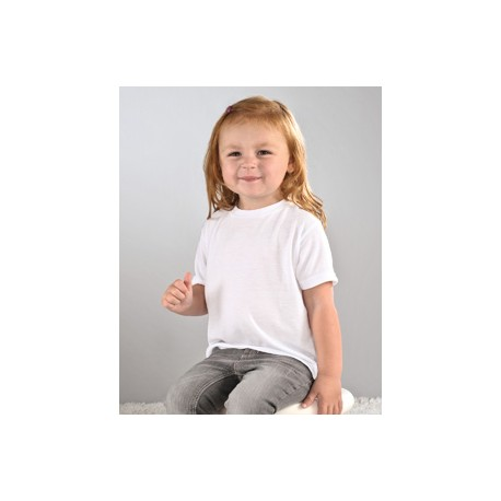 1310 SubliVie 1310 Toddler Sublimation Polyester T-Shirt WHITE