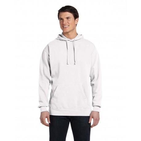 1567 Comfort Colors 1567 Adult Hooded Sweatshirt WHITE