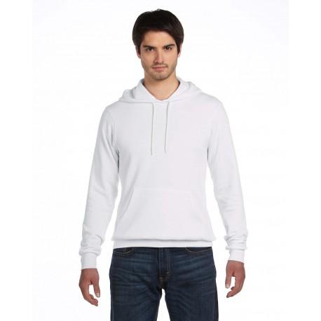 3719 Bella + Canvas 3719 Unisex Poly-Cotton Fleece Pullover Hoodie WHITE