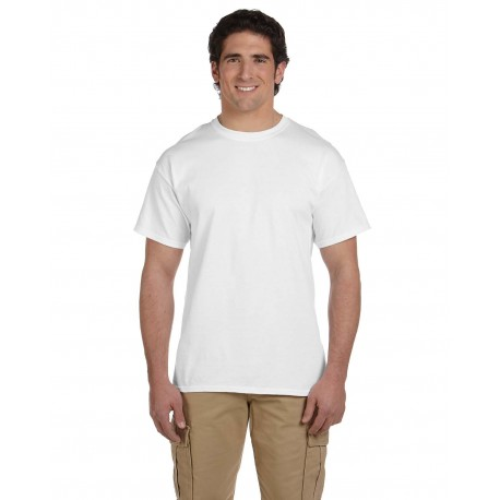 5170 Hanes 5170 Adult 5.2 oz., 50/50 EcoSmart T-Shirt WHITE