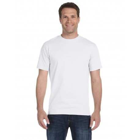 5180 Hanes 5180 Adult 6.1 oz. Beefy-T WHITE
