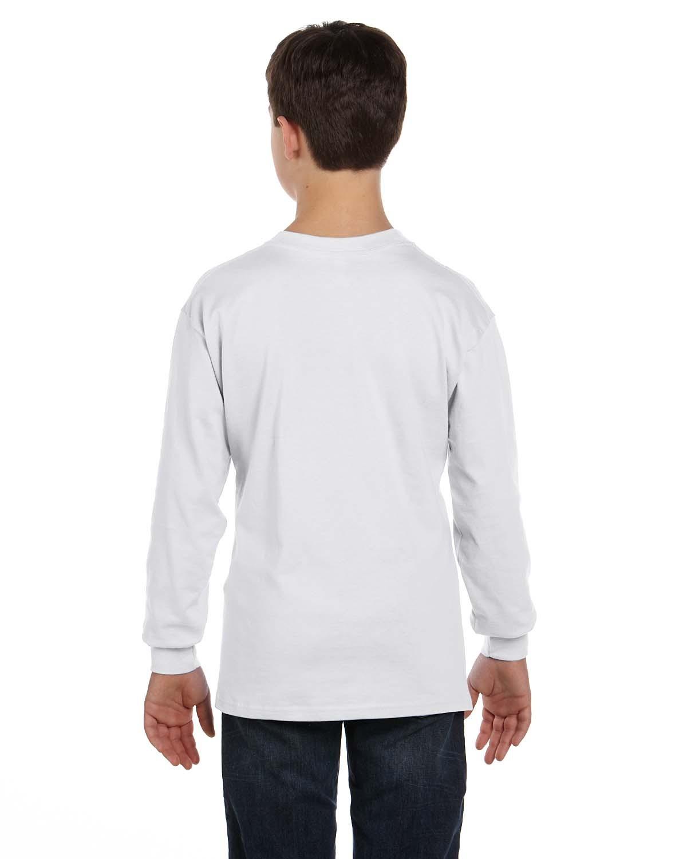 5546 Hanes WHITE