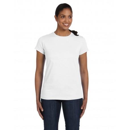 5680 Hanes 5680 Ladies' 6.1 oz. Tagless T-Shirt WHITE