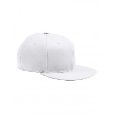6210 Flexfit 6210 Adult Premium 210 Fitted Cap WHITE