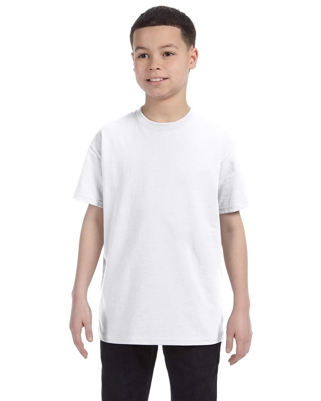 54500 Hanes WHITE