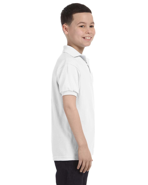 054Y Hanes WHITE