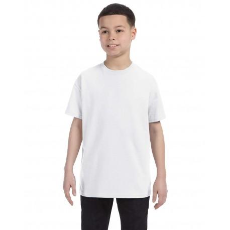 29B Jerzees 29B Youth 5.6 oz. DRI-POWER ACTIVE T-Shirt WHITE