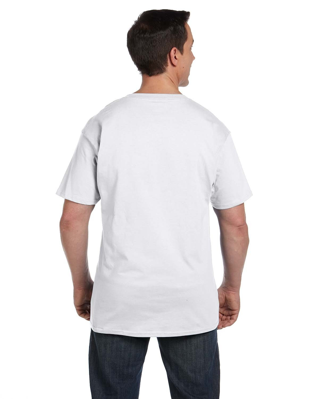 5190P Hanes WHITE