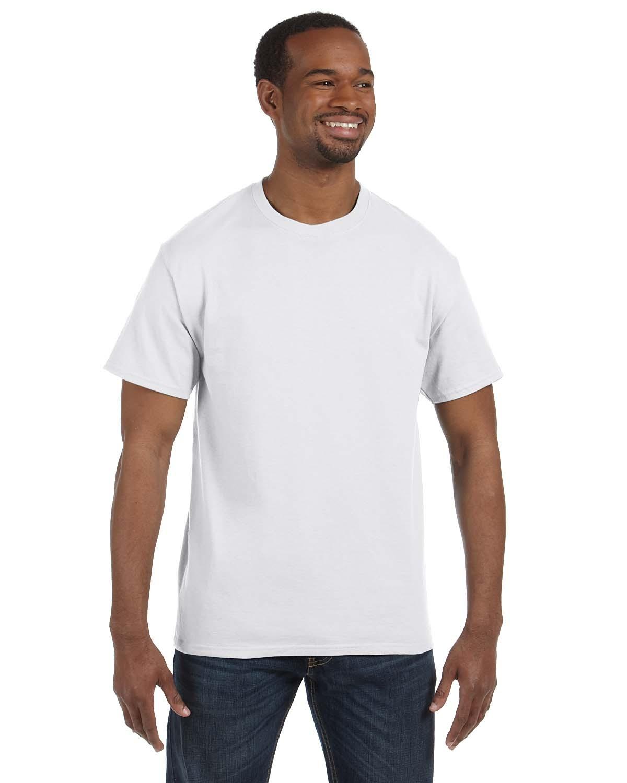 5250T Hanes WHITE