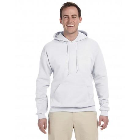 996MT Jerzees 996MT Men's Tall 8 oz. NuBlend Hooded Sweatshirt WHITE