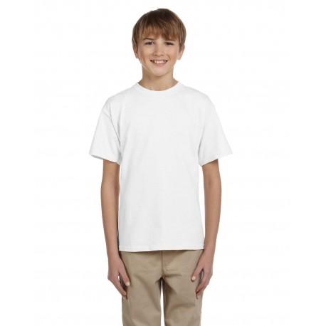 G200B Gildan G200B Youth Ultra Cotton 6 oz. T-Shirt WHITE