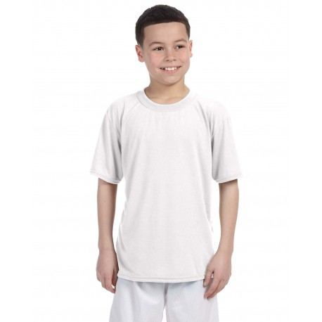 G420B Gildan G420B Youth Performance Youth 5 oz. T-Shirt WHITE