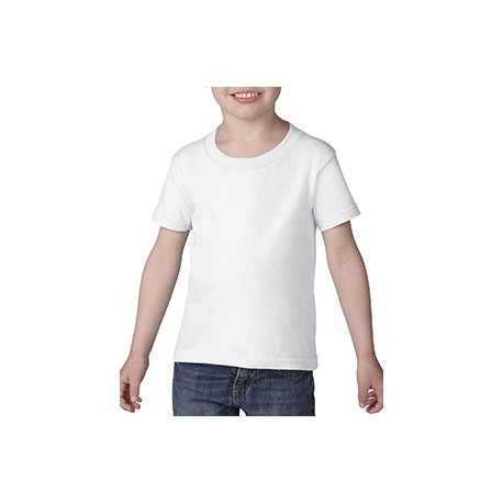 G510P Gildan G510P Toddler Heavy Cotton 5.3 oz. T-Shirt WHITE