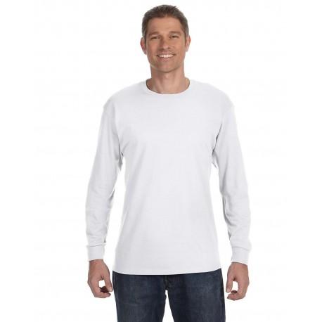 G540 Gildan G540 Adult 5.3 oz. Long-Sleeve T-Shirt WHITE