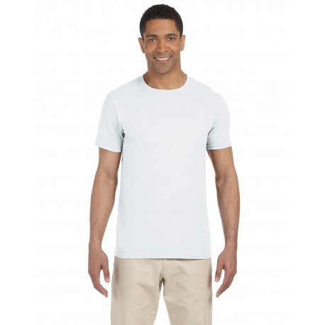 G640 Gildan G640 Adult Softstyle 4.5 oz. T-Shirt WHITE