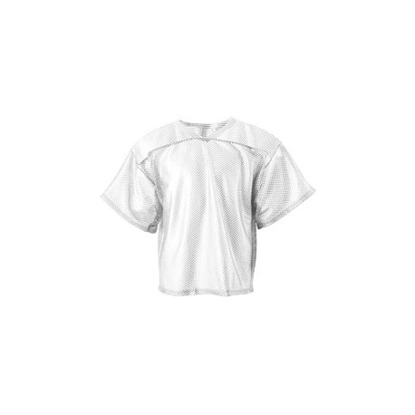 N4190 A4 N4190 All Porthole Practice Jersey WHITE