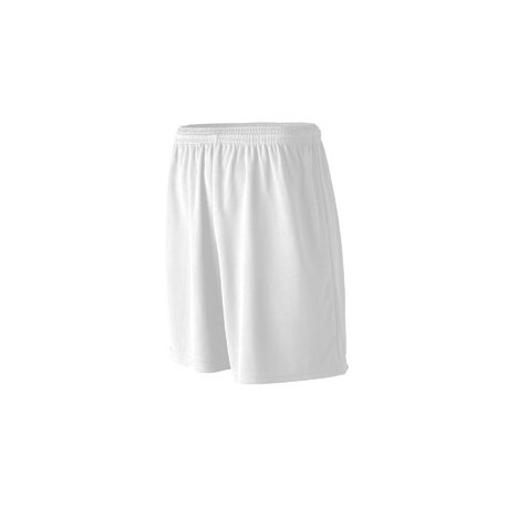 N5281 A4 N5281 Adult Cooling Performance Power Mesh Practice Shorts WHITE
