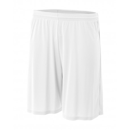 N5283 A4 N5283 Men's Nine Inch Performance Short WHITE