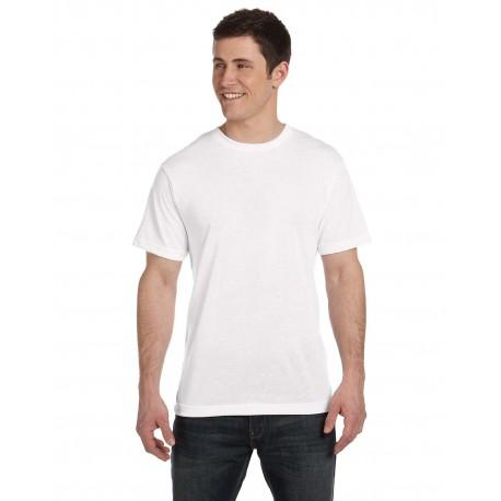 S1910 Sublivie S1910 Men's Sublimation Polyester T-Shirt WHITE