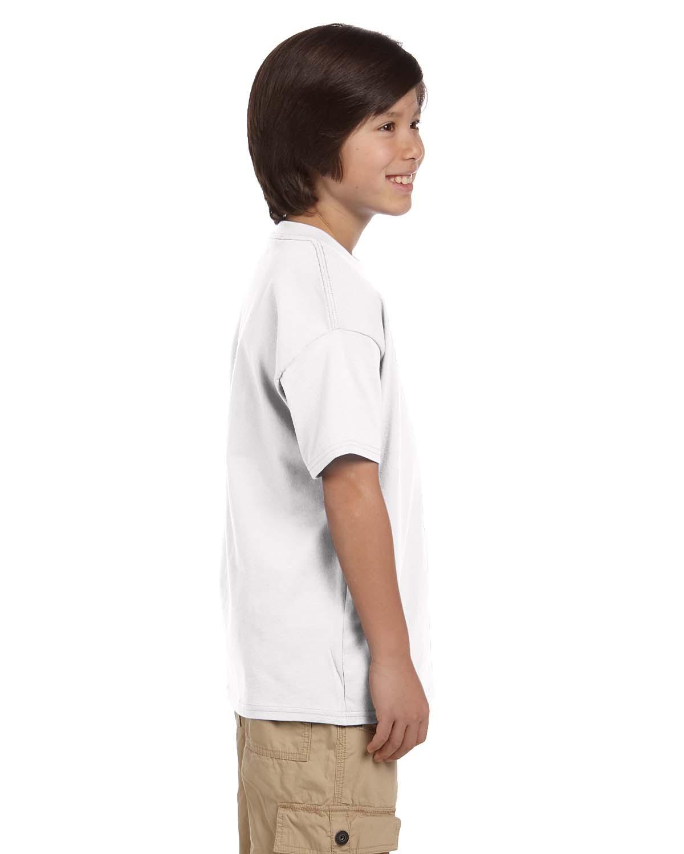 09ca068c Short-Sleeve T-Shirt Champion T435 Shirts Champion Youth 6.1 oz