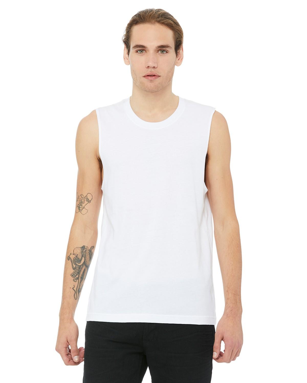 3483 Bella + Canvas WHITE