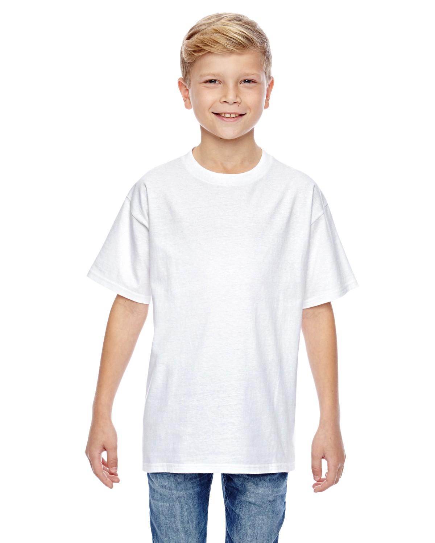 498Y Hanes WHITE