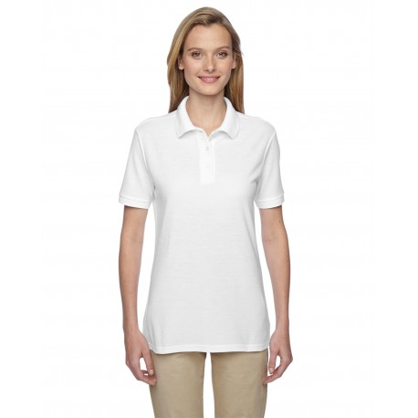 537WR Jerzees 537WR Ladies' 5.3 oz. Easy Care Polo WHITE