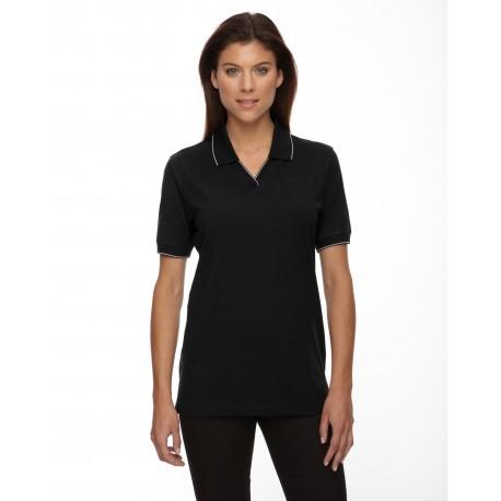 75009 Extreme 75009 Ladies' Cotton Jersey Polo BLACK 010