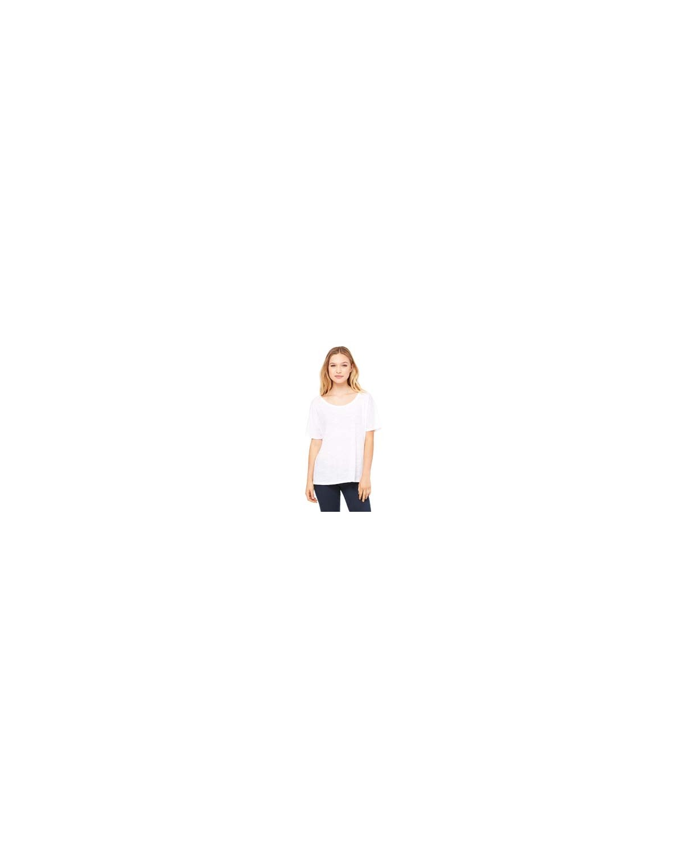 8816 Bella + Canvas WHITE SLUB