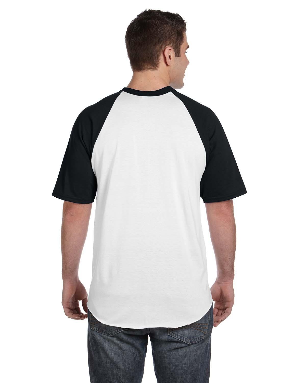 423 Augusta Sportswear WHITE/BLACK