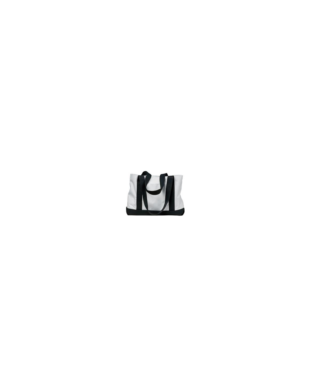 7002 Liberty Bags WHITE/BLACK