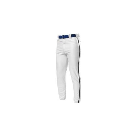 N6178 A4 N6178 Pro Style Elastic Bottom Baseball Pants WHITE/BLACK