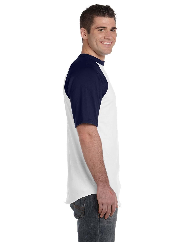 423 Augusta Sportswear WHITE/NAVY