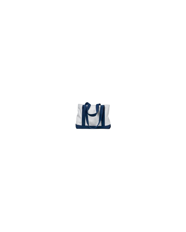 7002 Liberty Bags WHITE/NAVY