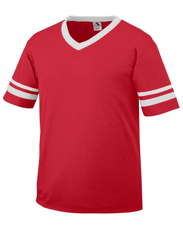360 Augusta Sportswear WHITE/RED