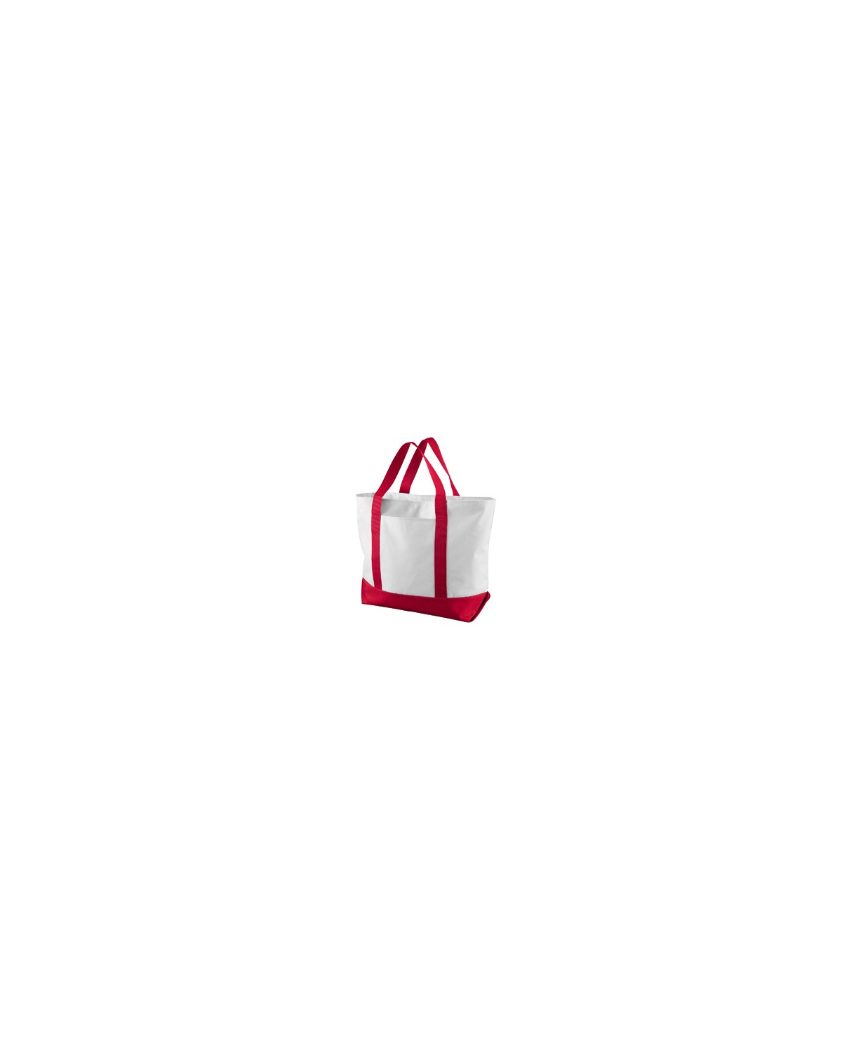 7006 Liberty Bags WHITE/RED