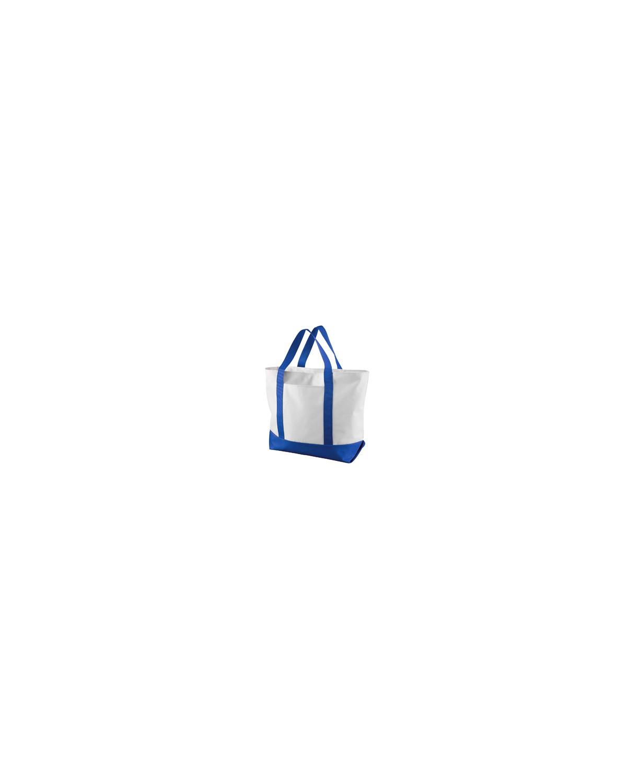 7006 Liberty Bags WHITE/ROYAL