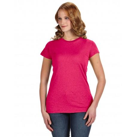 JA8138 J America JA8138 Ladies' Glitter T-Shirt WILDBERRY