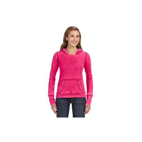 JA8912 J America JA8912 Ladies' Zen Pullover Fleece Hood WILDBERRY