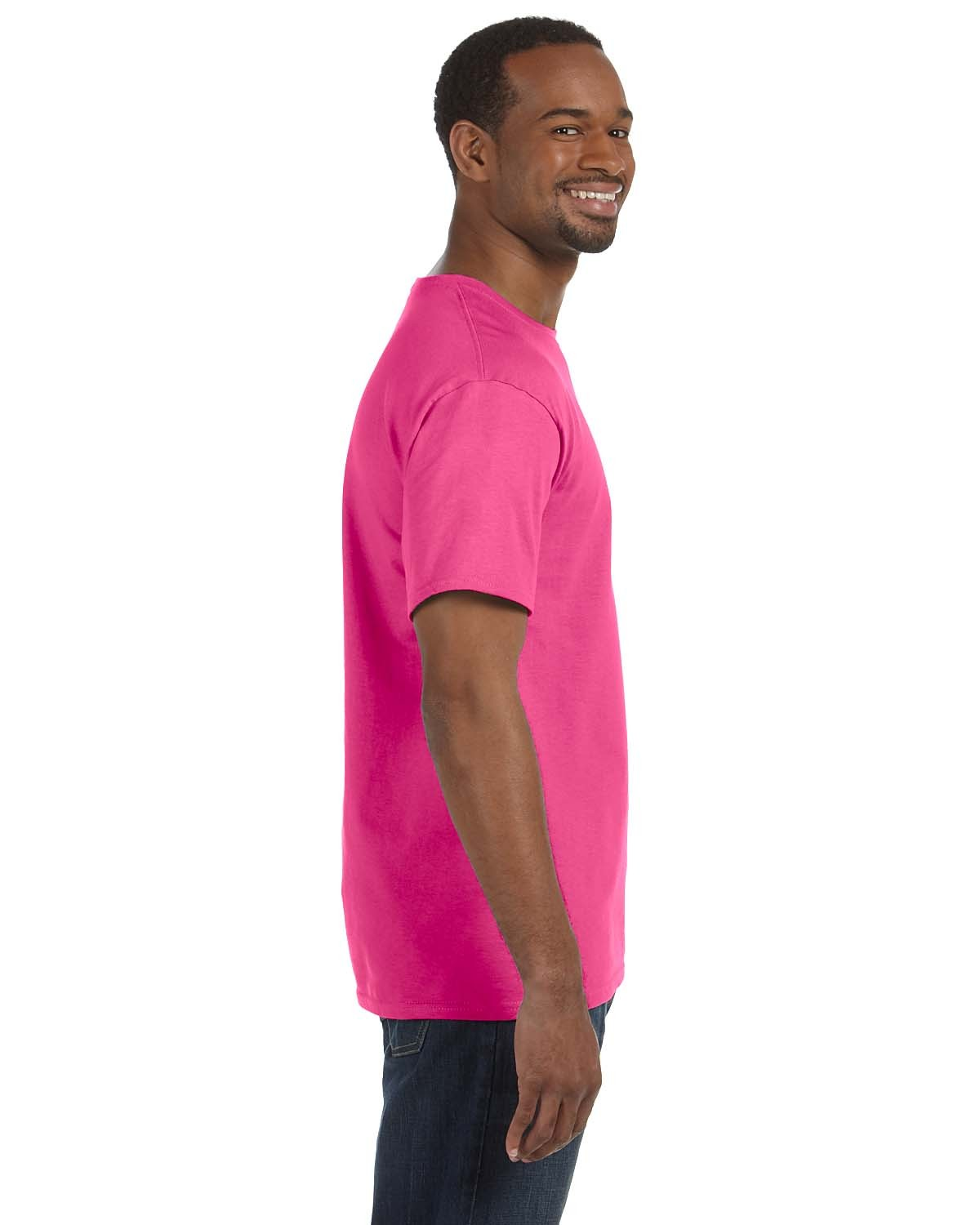 5250T Hanes WOW PINK
