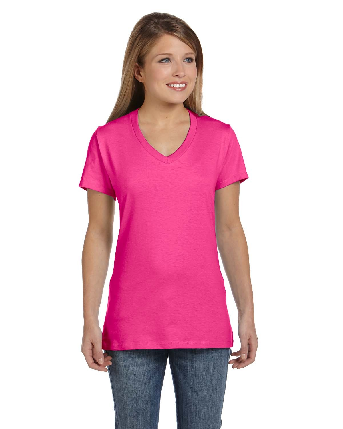 S04V Hanes WOW PINK