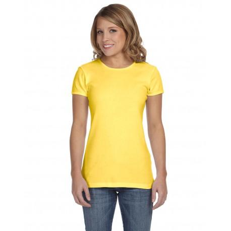 1001 Bella + Canvas 1001 Ladies' Baby Rib Short-Sleeve T-Shirt YELLOW