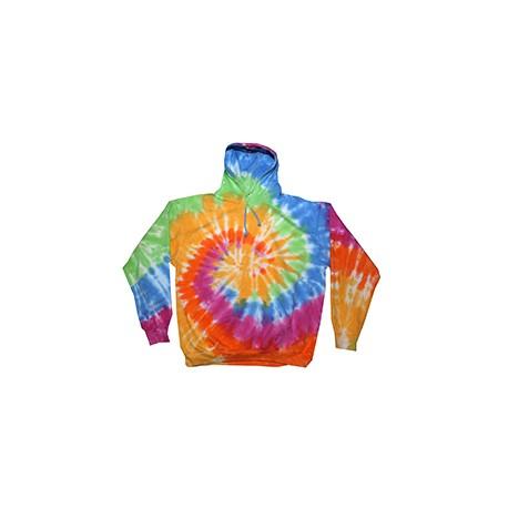 CD877Y Tie-Dye CD877Y Youth 8.5 oz. Tie-Dyed Pullover Hood ETERNITY