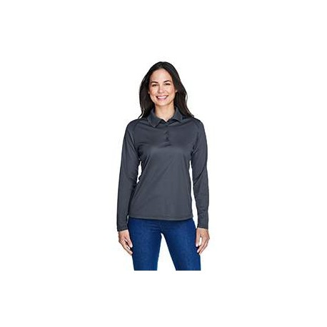 75111 Extreme 75111 Ladies' Eperformance Snag Protection Long-Sleeve Polo CARBON